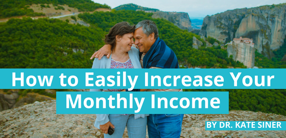 How to Easily Increase Your Monthly Income