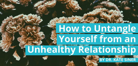 How to Untangle Yourself from an Unhealthy Relationship